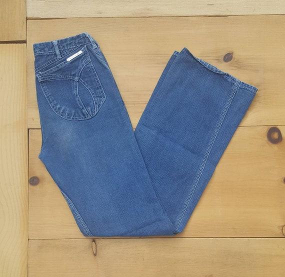 Vintage Jeans  //  Vtg 70s 80s N'EST CE PAS? Mid R