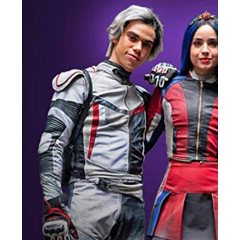Custom Made Disney Descendants 3 Carlos costume ADULT version jacket with  sleeves and pants