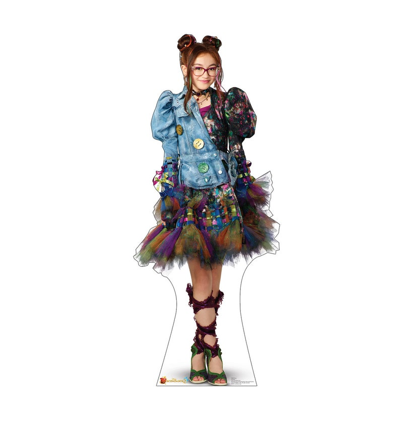 Custom Made Disney Descendants 3 Dizzy costume ADULT version long sleeve  jacket and dress