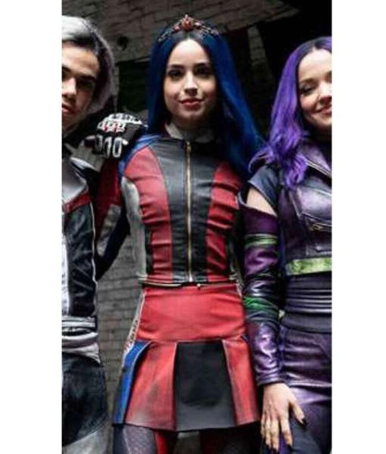 Custom Made Disney Descendants 3 Evie costume ADULT version long sleeve  jacket and skirt
