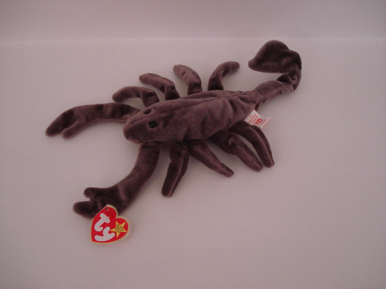 TY Beanie Babies Stinger the Scorpion DOB September 29 1997