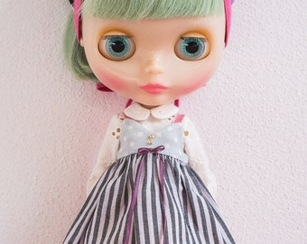 """Blythe doll OOAK outfit - """"Once in a lifetime"""" - 9"""