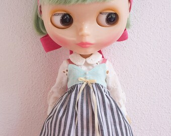 """Blythe doll OOAK outfit - """"Once in a lifetime"""" - 5"""