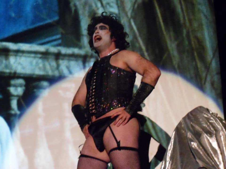 Halloween//Rocky Horror//Drag//Men/'s SWEET TRANSVESTITE Costume with Wig All Sizes