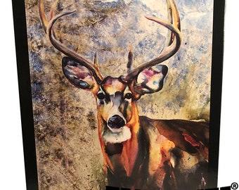 White Tailed Deer 1000 pc puzzle Original Wildlife Artwork