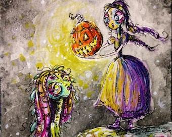 A Gift of Spirit original painting