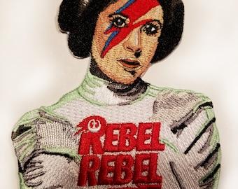 Rebel Rebel Prinzessin Abzeichen