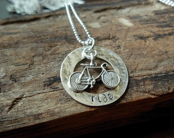 RIDE Sterling Silver Necklace