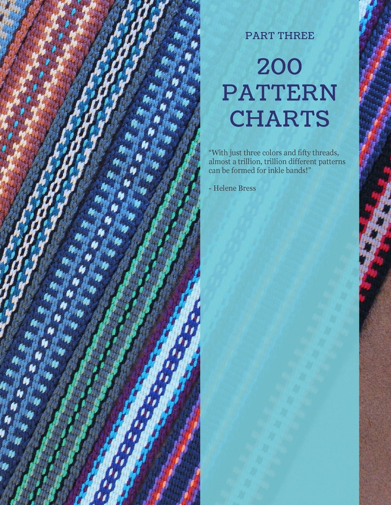 Inkle Weaving Design Book by Annie MacHale, In Celebration of Plain Weave:  Color & Design Inspiration for Inkle Weavers