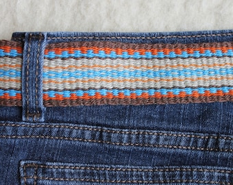 Hemp Sash Belt, Handwoven, Tie Belt for Anyone to Wear With Anything, Costume, Cosplay, Dress Up, Dress Down, Vegan