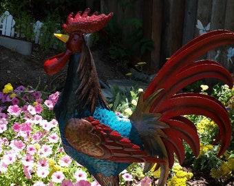 Garden Art - Huge Rooster