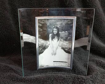 Curved Glass Frame Etsy