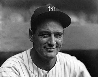Lou Gehrig New York Yankees Photo