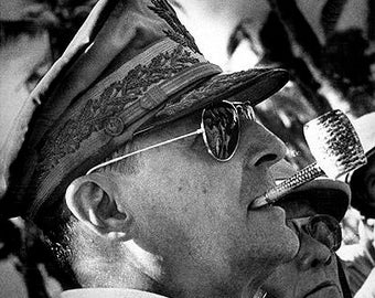 General Douglas MacArthur World War II Photo