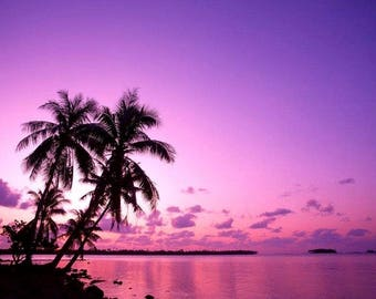 Tropical Islands And Sunsets Stock Photo CD 400 Images