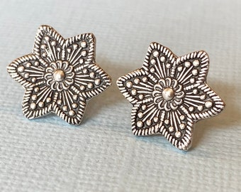 Starburst Stud Earrings // Guidance and Direction