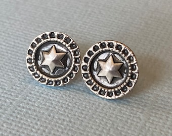 Star Stud Earrings // Guidance and Direction