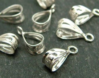 Sterling Silver Bail 9mm