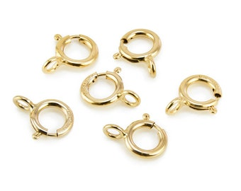 Gold Filled Spring Ring Clasp 5mm