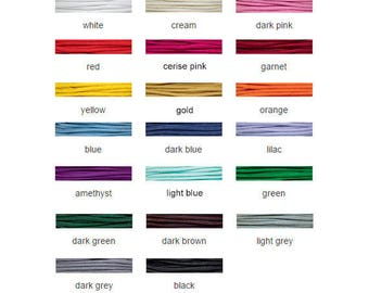 Griffin Nylon Braided Cord 1mm - 25 metre spool - All Colors