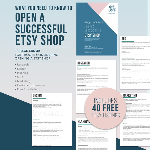 What you need to know to open a successfulshop. For | Etsy