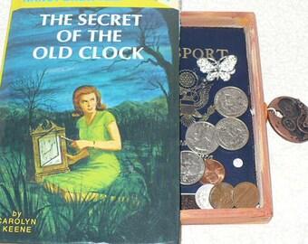Nancy Drew Hollow Book Safe Jewelry Box