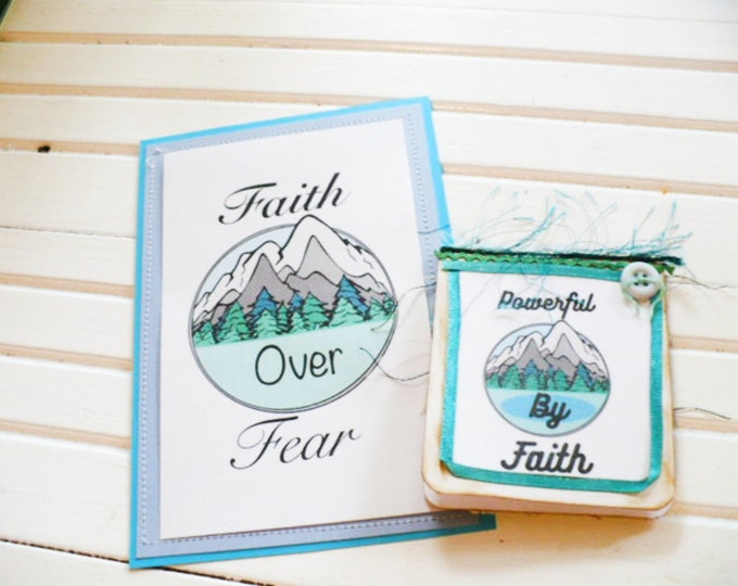 Powerful By Faith Bookmark Regional Convention 2021 JW Gift for Baptism or Sister Gift