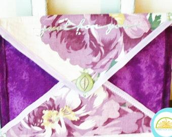 Cash Envelopes, Just For You, Gift Card Envelope, Money Holder, Purple Floral Design, Sachet Envelope
