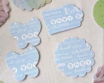 Baby Shower Confetti Boy, Table Confetti, Gender Reveal Shower, Boy Baby Shower Decor, Free Shipping, MarketsOfSunshine