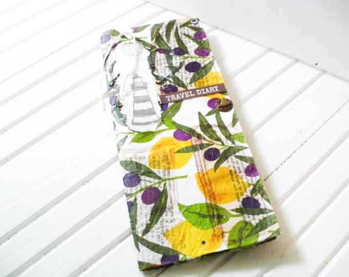 Travelers Notebook Insert Country Nature Fruit Theme for Junk Journals, Art Journal, Gratitude Journal, Scripture Notebook Gift For Women.