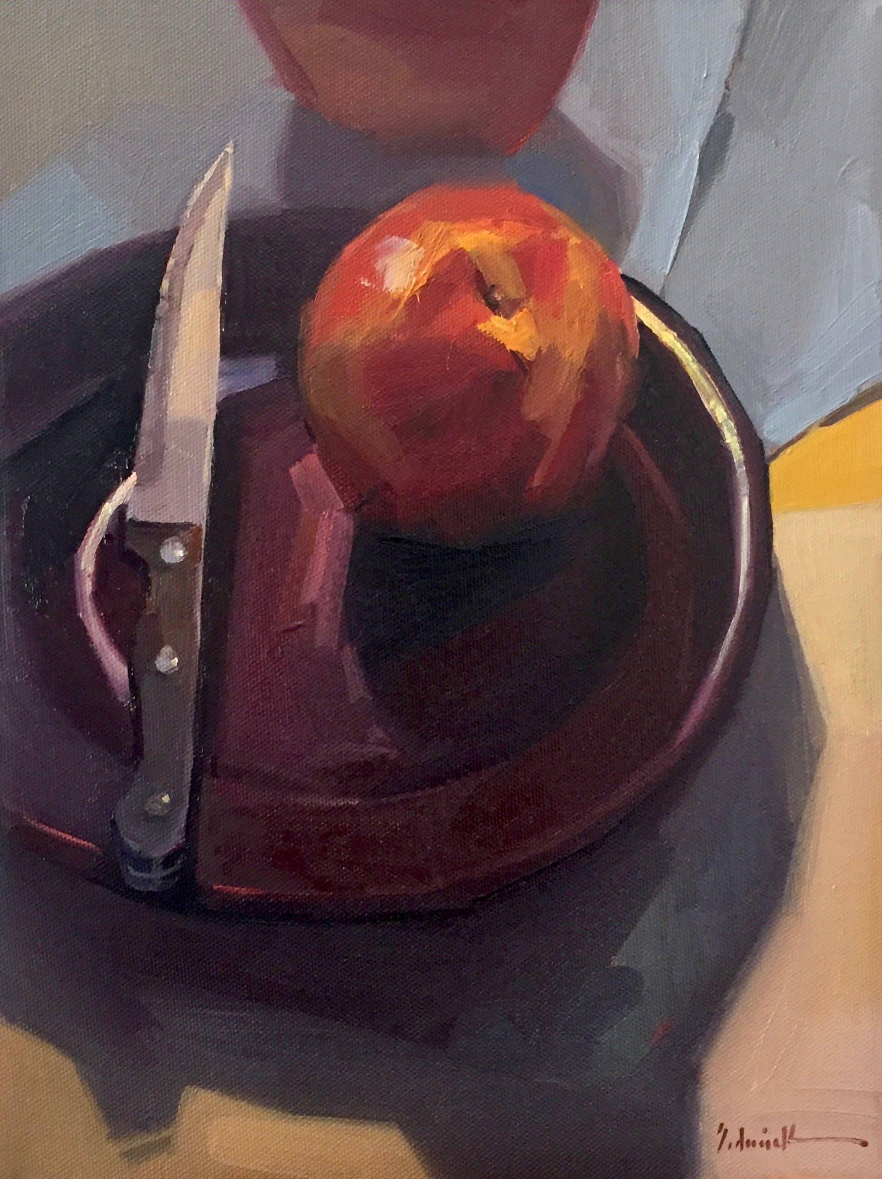 Gerahmte Kunst Obst Gemälde Stillleben Messer auf der | Etsy
