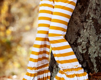 Instant Download Greenstyle Willow Ruffle Pant PDF Sewing Pattern Sizes 2 Years - 12 Years