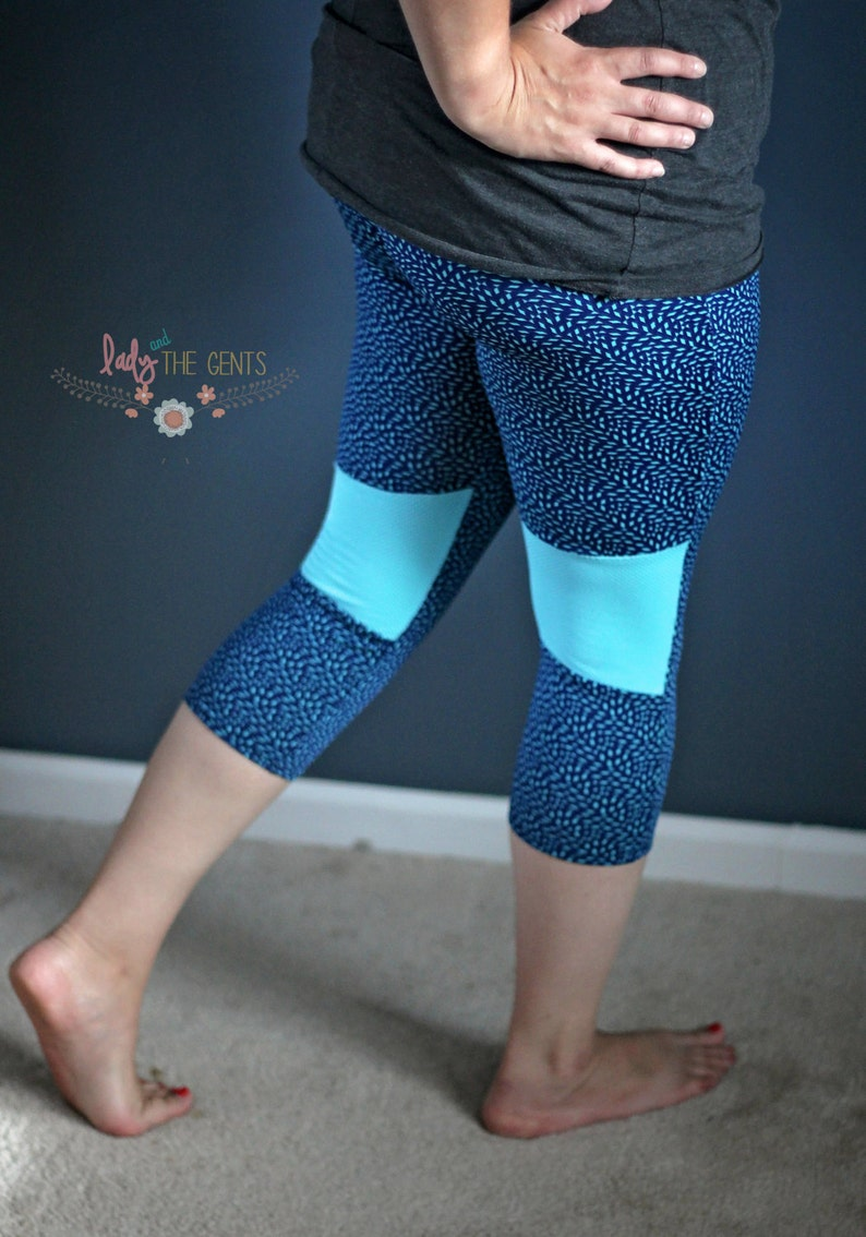 GreenStyle Inspire Tights PDF Sewing Pattern XXS to 3XL image 0