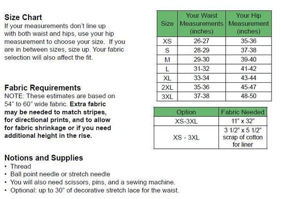 Sewing Thread Size Chart Pdf