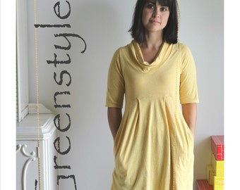 Laurel Dress or Tunic in sizes XXS to 3XL - Instant Download