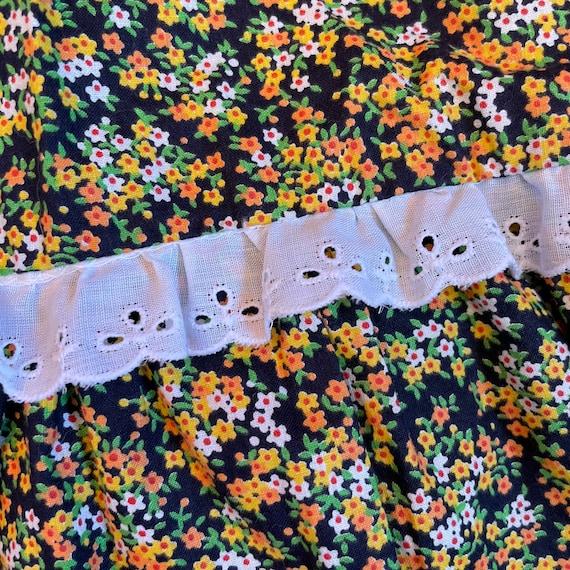 Vintage Prairie Skirt Cottagecore Clothing 70s Hi… - image 6