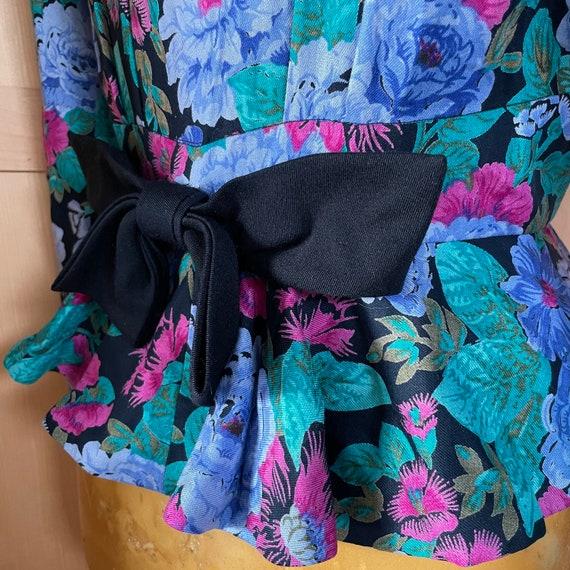 Cottagecore Vintage Floral Jacket Fairycore Cloth… - image 6