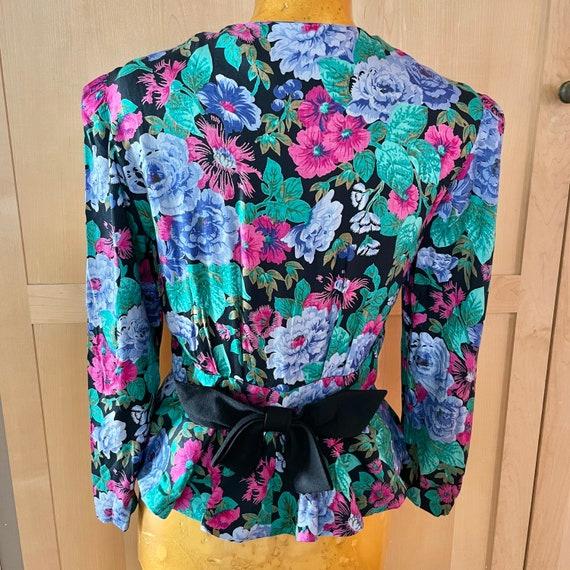 Cottagecore Vintage Floral Jacket Fairycore Cloth… - image 2
