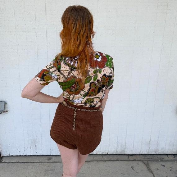 Vintage Fairycore Shirt 1970s Top Butterflies But… - image 4