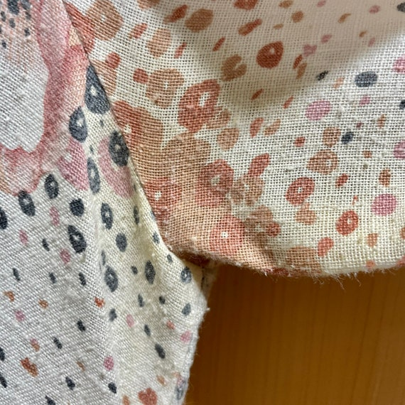 Vintage Fairycore Prairie Dress Cottagecore Cloth… - image 9