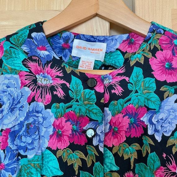 Cottagecore Vintage Floral Jacket Fairycore Cloth… - image 7