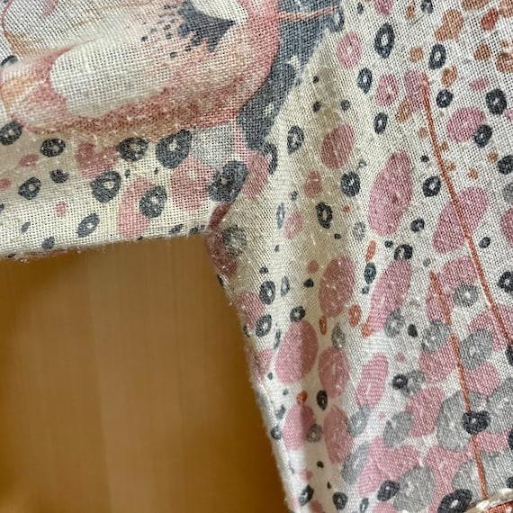 Vintage Fairycore Prairie Dress Cottagecore Cloth… - image 10
