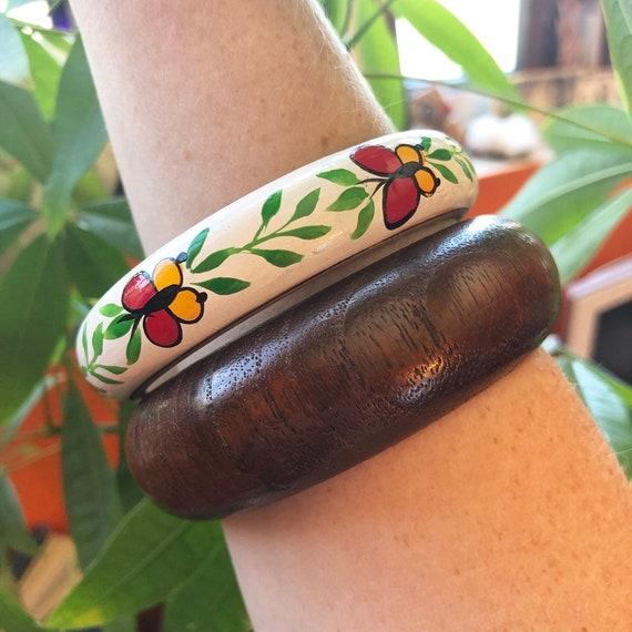Cottagecore Bracelets Butterfly Bangle Fairycore … - image 2