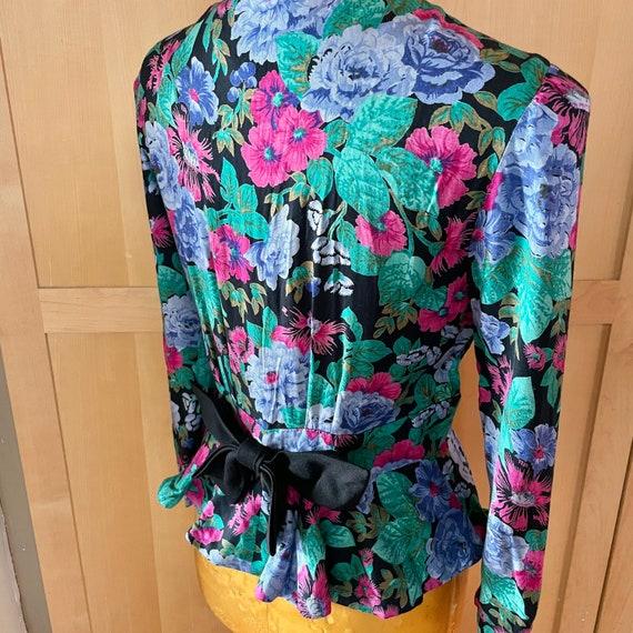 Cottagecore Vintage Floral Jacket Fairycore Cloth… - image 5