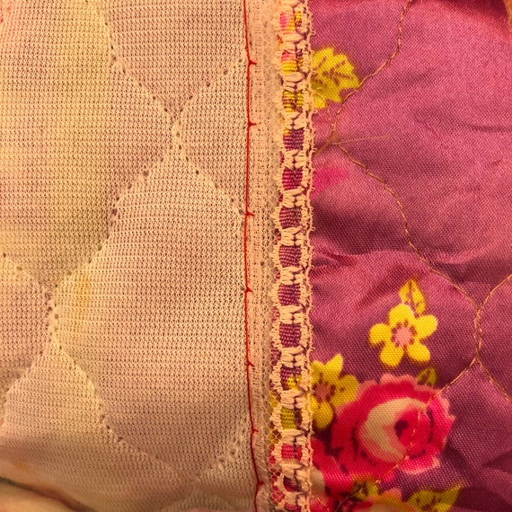 Vintage High Waist Quilted Skirt Fairycore Clothi… - image 8
