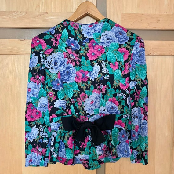Cottagecore Vintage Floral Jacket Fairycore Cloth… - image 4