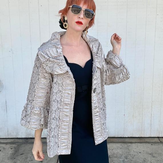 Vintage Cottagecore Jacket Fairycore Clothing Rom… - image 8