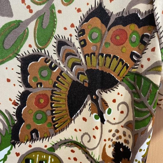 Vintage Fairycore Shirt 1970s Top Butterflies But… - image 7