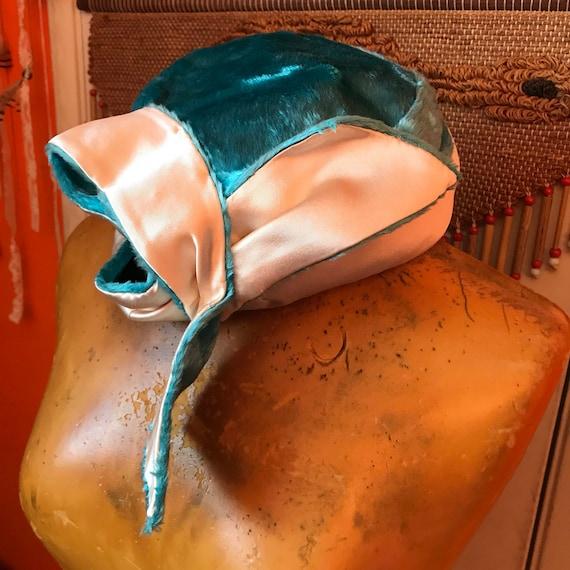 Vintage Fairycore Hat Whimsical 1960s Hats Festiv… - image 5
