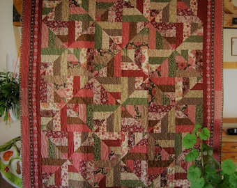 Twisted Strip Quilt